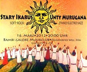 Stary Ikarus & Unty Murugana Live in Bambi!